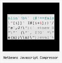 Javascript Unpacker Reverse Enginerring netbeans javascript compressor
