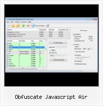 Uricomponent In Javasctipt obfuscate javascript air