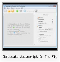 Obfuscator Reverse obfuscate javascript on the fly