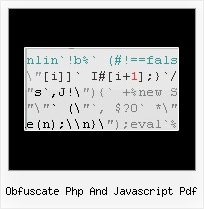 Javascript Encrypter Google obfuscate php and javascript pdf