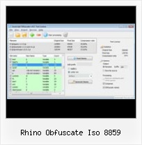 Yuicompressor Illegal Character rhino obfuscate iso 8859