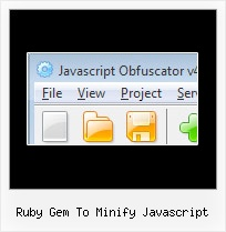 Javascript Compress And Uncompress String ruby gem to minify javascript