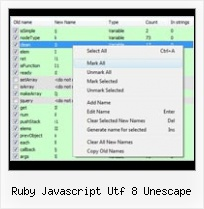 Javascript Obfuscator Source Code In Java ruby javascript utf 8 unescape