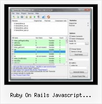 Url Obfuscator Program ruby on rails javascript compression ror