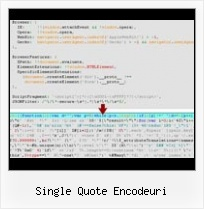 Automatic Javascript Compression Php single quote encodeuri