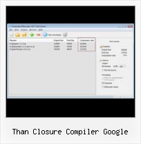 Decoder For Dean Edward S Packer than closure compiler google