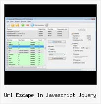 Python Compress Css url escape in javascript jquery