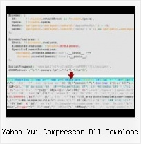 Javascript Compress Obfuscator C Open Source yahoo yui compressor dll download