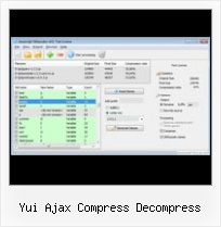 Howto Set Utf8 Within Javascript Files yui ajax compress decompress