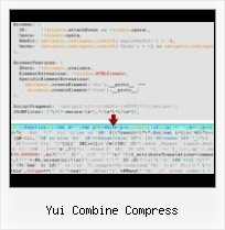 Pack Javascript File yui combine compress