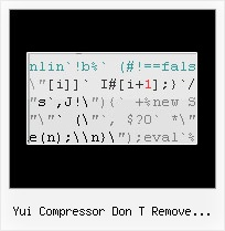 Javascript Obfuscator Build Your Own Php yui compressor don t remove license comment
