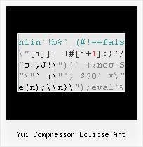 Javascript Css Combine Minify Ant yui compressor eclipse ant