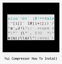 Javascript Minifier Gem yui compressor how to install