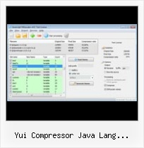 Yui Packer Open Source yui compressor java lang runtimeexception