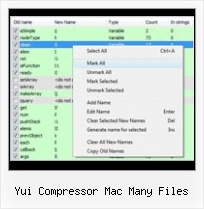 Python Minimize Javascript yui compressor mac many files