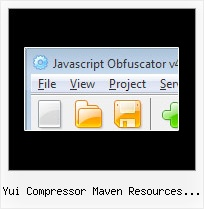 Online Javascript Decoder yui compressor maven resources usage