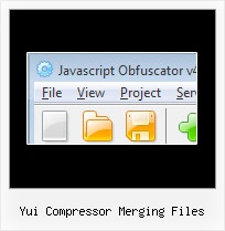 Jsmin Obsfucate yui compressor merging files