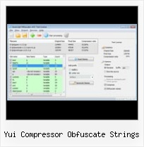 Ant Compress All Css Gz yui compressor obfuscate strings
