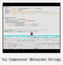 Combine Files Yui Compressor yui compressor obfuscate strings