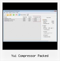Javascript Obfuscator C yui compressor packed