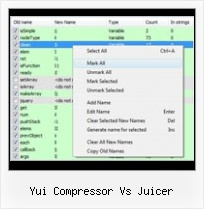 Javascript Url Escape Hebrew yui compressor vs juicer