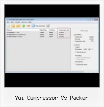 Protect Javascript Source yui compressor vs packer