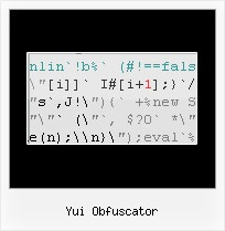 Minifies The Markup In Asp Net Codeproject yui obfuscator