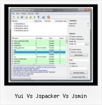 Javascript Obfuscator Decoder yui vs jspacker vs jsmin