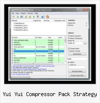 Extract Dean Edwards Packer yui yui compressor pack strategy