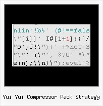 Than Closure Compiler Google yui yui compressor pack strategy